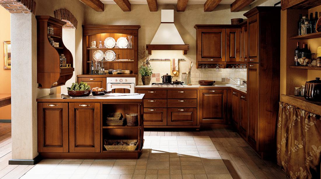 Veneta cucine como lecco modello verdiana arredo - Arredo cucina rustica ...