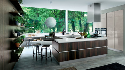 showroom cucine contemporanee